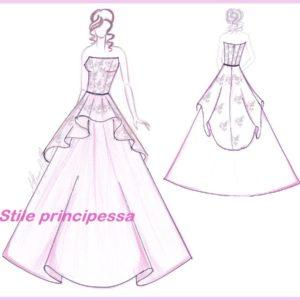 abito da sposa modello